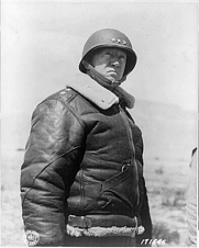 Author photo. George S. Patton (1885-1945) As Lt. General. Photograph by U.S. Army Signal Corps. March 30, 1943 (Library of Congress Prints and Photographs Division. Reproduction Number: LC-USZ62-25122)
