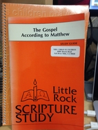 The Gospel According to Matthew: Study Guide…