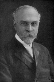 Author photo. Image from <b><i>The world war, its relation to the Eastern question and Armageddon</i></b> (1917) by Arthur Grosvenor Daniells