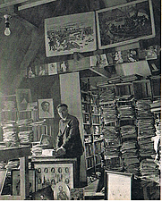 Author photo. D. Wijnbeek with his unique archive