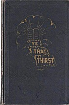 Ye That Thirst by David Meyer Hausdorff