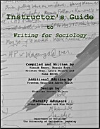 Instructor's Guide to Writing for Sociology…