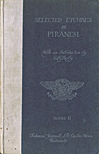 Selected etchings by Piranesi by Giovanni…