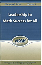 Leadership to Math Success for All…