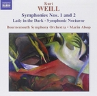 Symphonies nos. 1 and 2 ; Lady in the dark…