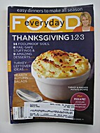 Everyday Food No. 87 - Thanksgiving 1-2-3,…