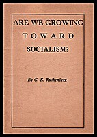 Are we growing toward socialism? by Charles…