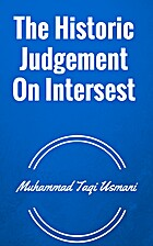 The Historic Judgement On Intersest by…
