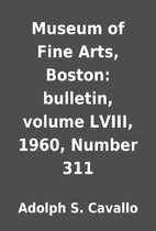 Museum of Fine Arts, Boston: bulletin,…