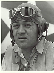 "Author photo. ""Pappy"" Boyington ~ U.S. Marine Corps Photo"