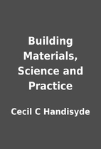 Building Materials, Science and Practice by…
