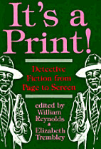 It's a print! : detective fiction from page…