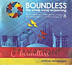Boundless the whole world redeeming by Eddie…