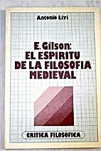 Etienne Gilson : el espíritu de la…