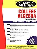 Schaum's Outline of College Algebra by…