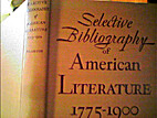 Selective Bibliography of American…
