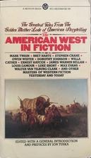 The American West in Fiction by Jon Tuska