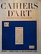 Cahiers d´Art : Revue d´art paraissant.
