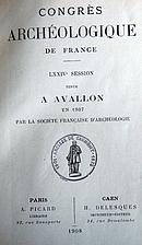 France: 1907, Guide du Congrès d'Avallon by…