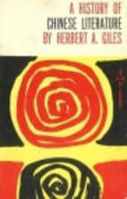 A History of Chinese Literature by Herbert…