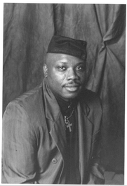 Author photo. Photo of Aberjhani, the U.S. author of The River of Winged Dreams, Encyclopedia of the Harlem Renaissance, The American Poet Who Went Home Again, and other books. (photo by Savannah photographer Darryl Reynolds.