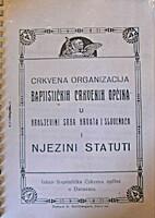 Crkvena organizacija baptističkih crkvenih…