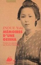 Memoires d'une geisha by Yuki Inoue