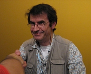Author photo. Roberto Baldazzini at Comicon 2007 by Malaussene