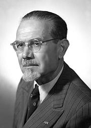 Author photo. Emilio Lussu (about 1953)