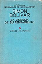 Simón Bolívar: La vigencia de su…