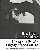 Breaking the Mold: Harold Paris's Legacy of…