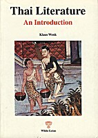 Thai Literature: An Introduction by Klaus…