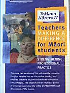 Te mana kōrero : teachers making a…