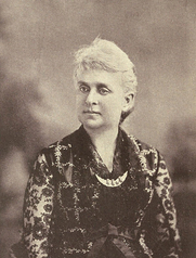 Author photo. Image from <b><i>Memories : a record of personal experience and adventure during four years of war</i></b> (1891) by Fannie A. Beers