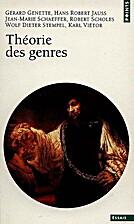 Théorie des genres by Gérard Genette