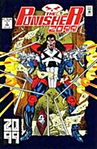 Punisher 2099,The #1 Foil Cover by Pat Mills