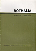 Bothalia Vol 15 No 1 & 2 August 1984 by D.…