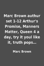 Marc Brown authur set 1-12 Arthur's…
