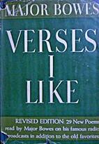 Verses I Like by Ed Bowes