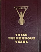 These Tremendous Years 1919-1938 by Daily…