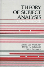 Theory of Subject Analysis: A Sourcebook by…