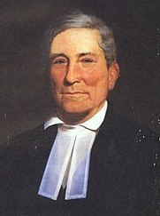 Author photo. Portrait of John Bachman [obtained from Wikipedia; author not known]