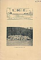 DIGS Vol. VI, No. 1 October 15, 1934