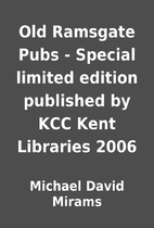 Old Ramsgate Pubs - Special limited edition…