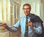 Author photo. Painted by Everett Raymond Kinstler; Collection of U.S. Capitol