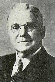 "Author photo. Charles A. Callis, 1939 (from Liahona: The Elder's Journal: ""Conference Address of Elder Charles A. Callls of the Council of the Twelve Apostles)"