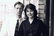 Author photo. with husband Oleg Prokofiev