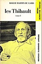 Les Thibault - tomes 1 et 2 (extraits) by…