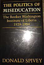 The Politics of Miseducation: The Booker…