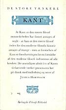 Kant. De Store Tænkere. Berlingske Filosofi…